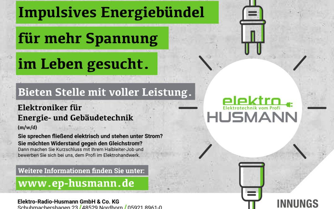 Energiebündel im Bereich Elektrotechnik gesucht